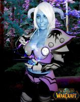 Draenei cosplay 06 - WoW by kurokagamirui