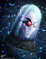 Mr. Freeze by derekblairart
