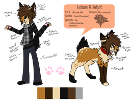 .:Ref:. NEW Autumn G.Knight Design by Rising-At-Midnight