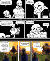 Undertale: Even more boney by Lord-Evell