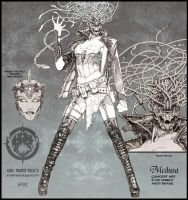 Medusa concept art by andybrase