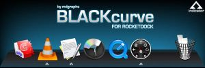 BLACKcurve for Rocketdock by MDGraphs
