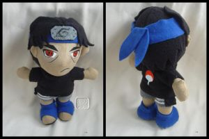 Young Itachi Plushie by VesteNotus