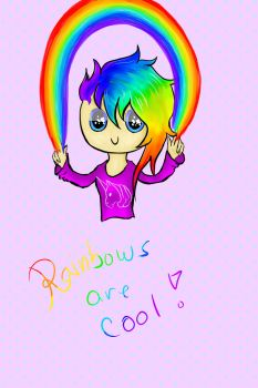 Rainbows are cool! by STIAK