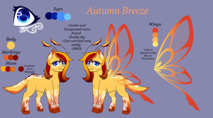 OC Reference - Autumn Breeze 2017 by WindBlade2313