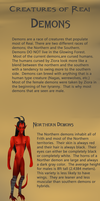 Creatures of Reai: Demons by orochiXdemonXshiku
