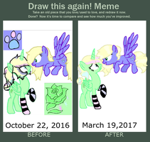 Draw this again Meme by MintyMagic74