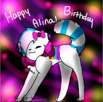 Happy Birthday Alina by dixiestickz