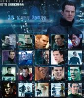 20 Icons featuring Khan (Star Trek into Darkness) by Barbayat