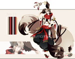 .:CLOSED:. Adoptable - Chidus Species 11 by chisei-adopts