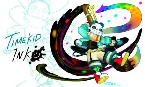 QUANTUMVERSE(Quantumtale INK-Special): TimeKid Ink by perfectshadow06