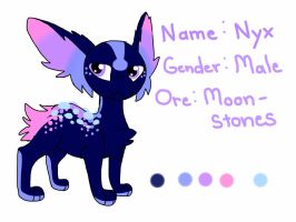 Nyx Ref Sheet by S0ulEclipse