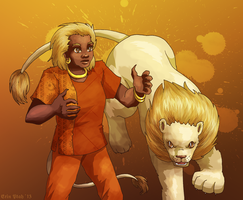 The Big Cat That's A Lion by ErinPtah