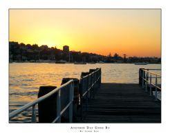 sunset at double bay by jennyclsun