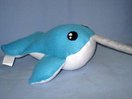 Narwhal Plushie by ZodiacEclipse