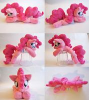 Squeakie Pie Pinkie Pie Fan Art Beanie Plush by CatNapCaps