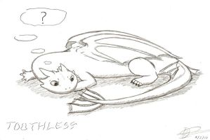 Toothless by haseodragon