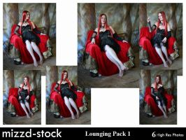 Lounging Pack 1 by mizzd-stock
