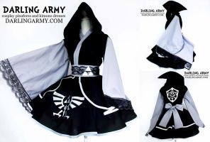 Shadow Link Legend of Zelda Cosplay Kimono Dress by DarlingArmy