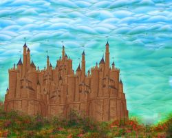 King Sahand's Castle by rabbitica