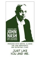 John Nash by rook-over-here