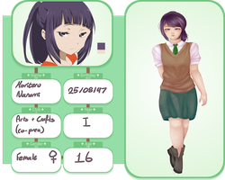 KA application: Moriteru Nanami *updated* by Dofuuhua