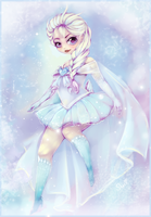Sailor of Ice : Queen Elsa by ShadedAstral