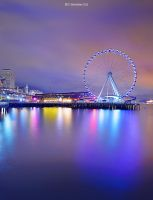 Seattle Great Wheel by ashamandour