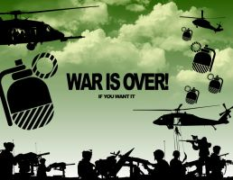 WAR IS OVER by ronnyyax