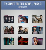 TV Series Folder Icon - Pack 3 by DYIDDO