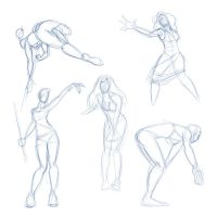 Gestures Female by Pasiphilo