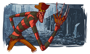 Freddy Krueger by thurZ