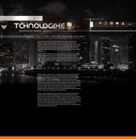 Thcnologixe Template by alex-xs
