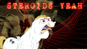 STEROIDS YEAH by LeonBrony
