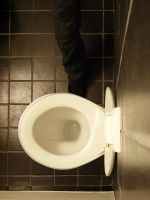 Abstract toilet by enkyl