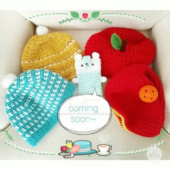 New crochet patterns coming soon by hellohappycrafts