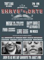 Shave the Date flyer by SublimeBudd