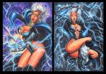 THUNDER GODDESS STORM SKETCH CARDS by AHochrein2010