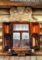 Rustic Russian Window by CultureQuest