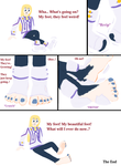 Colette's Feet Grows (Request) by TobyMcDee