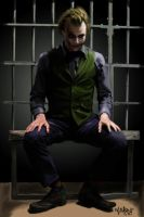 The Joker in Jail by kidro198