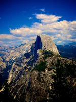 Half Dome, Yosemite by Justjill9