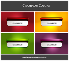 Champion Colors by easydisplayname