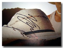 Scribbled autograph by jenny-in-ga