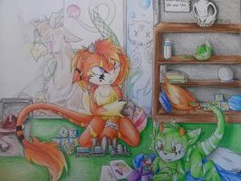 life in the laboratory by Mysterythefox