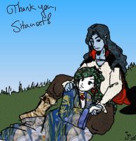 Thank you Sitauset by SirLadySketch