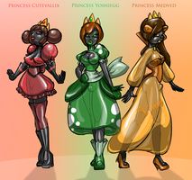 Queen Sammy's Empire - Princesses by Redflare500