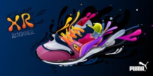 PUMA XR RUNNER by Tarelkin