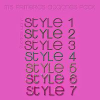 Mis primeros Styles by JuanniEditions