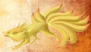 Ninetails no 38 by gothYvonne